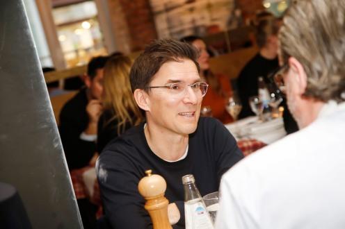 Jürgen MüllerModeMedienAbend / Fashion Meets Meat im Restaurant Zum Goldenen Kalb in München am 19.04.2018.Agency People Image (c) Jessica Kassner
