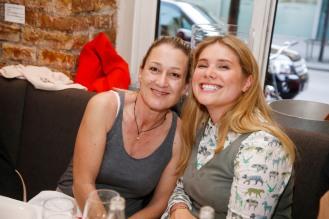 Sabine Adleff, Mona BuckenmaierModeMedienAbend / Fashion Meets Meat im Restaurant Zum Goldenen Kalb in München am 19.04.2018.Agency People Image (c) Jessica Kassner