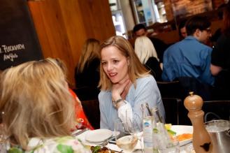 Kathrin WimberModeMedienAbend / Fashion Meets Meat im Restaurant Zum Goldenen Kalb in München am 19.04.2018.Agency People Image (c) Jessica Kassner
