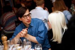 Konstantin SpachisModeMedienAbend / Fashion Meets Meat im Restaurant Zum Goldenen Kalb in München am 19.04.2018.Agency People Image (c) Jessica Kassner