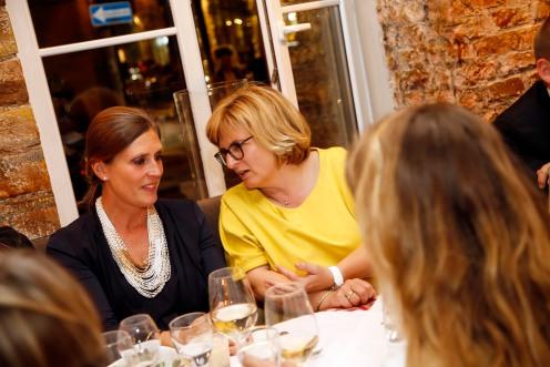 Petra DirollModeMedienAbend / Fashion Meets Meat im Restaurant Zum Goldenen Kalb in München am 19.04.2018.Agency People Image (c) Jessica Kassner
