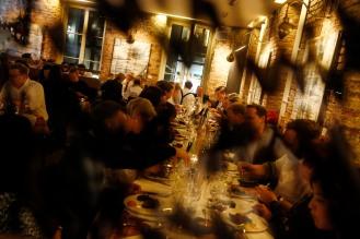 ModeMedienAbend / Fashion Meets Meat im Restaurant Zum Goldenen Kalb in München am 19.04.2018.Agency People Image (c) Jessica Kassner