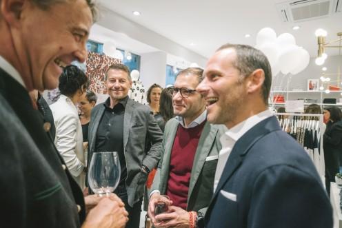 Daniel Gottesdiener (Geschäftsführender Gesellschafter Oui Gruppe) und Alon Junger