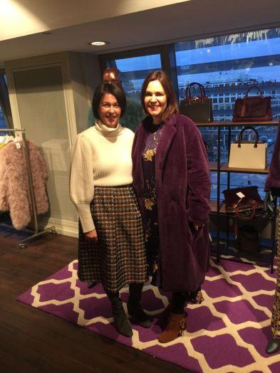Schockverliebt in diesen Fake Fur in Lila: (THE MERCER) N.Y.
