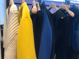 Moderne Farbkombination bei Lanvin, über Room Twelve