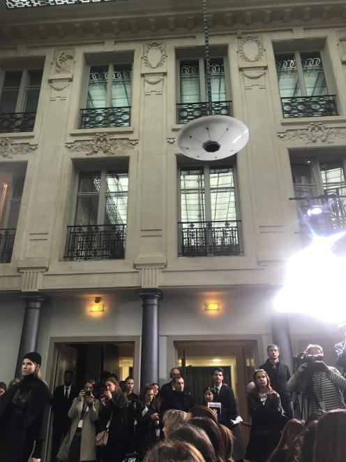 Tolle Kulisse: das Hotel d'Evreur für die Nobi Talai-Show