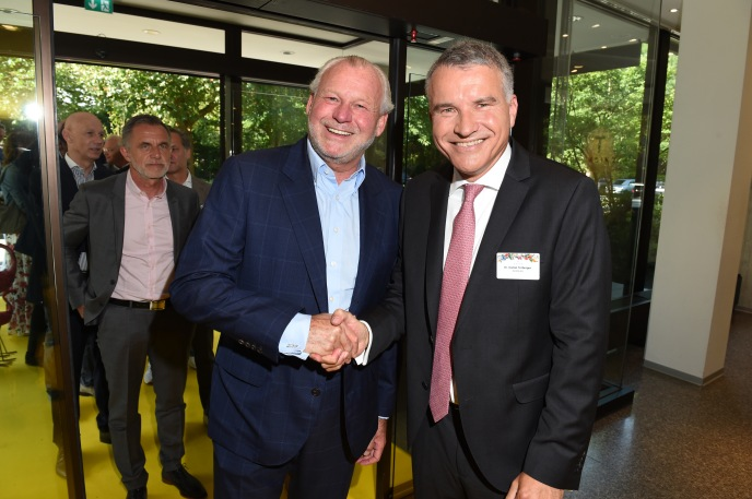 Paul Falke, Dr.Daniel Terberger 63. KATAG-Cheftagung in Bielefeld am 07.06.2017 Foto: BrauerPhotos / G.Nitschke