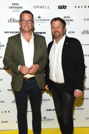 Christoph und Franz Huber 63. KATAG-Cheftagung in Bielefeld am 07.06.2017 Foto: BrauerPhotos / G.Nitschke