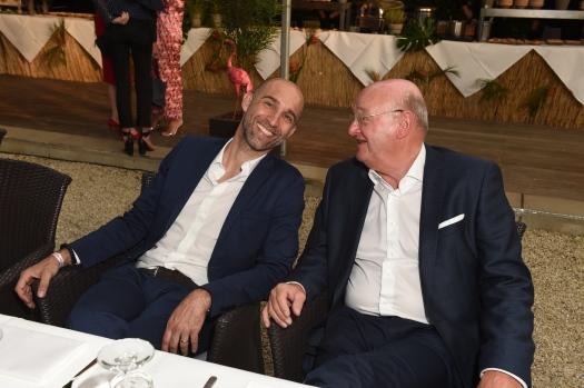 Mario Lens , Hans-Joachim Zinser 63. KATAG-Cheftagung in Bielefeld am 07.06.2017 Foto: BrauerPhotos / G.Nitschke