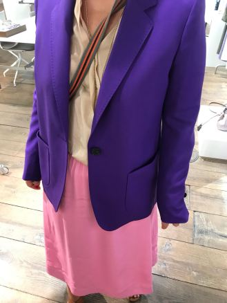 Statement: Blazer in Lila bei Windsor