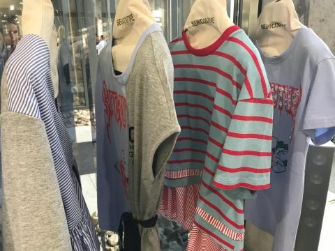 Jersey und Bluse in einem: Semicouture