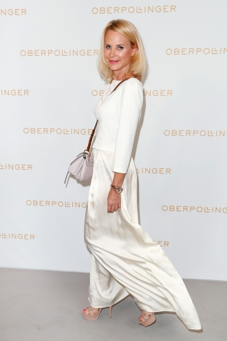MUNICH, GERMANY - SEPTEMBER 12: Sonja Kiefer during the grand opening of the new Oberpollinger ground floor 'Muenchens Neue Prachtmeile' at Oberpollinger on September 12, 2018 in Munich, Germany. (Photo by Franziska Krug/Getty Images for Oberpollinger)