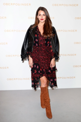 MUNICH, GERMANY - SEPTEMBER 12: Ruby O. Fee during the grand opening of the new Oberpollinger ground floor 'Muenchens Neue Prachtmeile' at Oberpollinger on September 12, 2018 in Munich, Germany. (Photo by Franziska Krug/Getty Images for Oberpollinger)