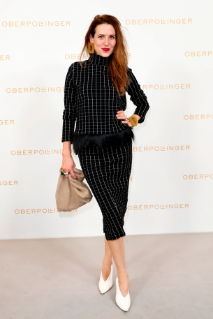 MUNICH, GERMANY - SEPTEMBER 12: Julia Malik during the grand opening of the new Oberpollinger ground floor 'Muenchens Neue Prachtmeile' at Oberpollinger on September 12, 2018 in Munich, Germany. (Photo by Franziska Krug/Getty Images for Oberpollinger)