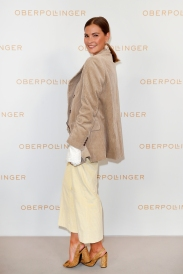 MUNICH, GERMANY - SEPTEMBER 12: Nina Schwichtenberg during the grand opening of the new Oberpollinger ground floor 'Muenchens Neue Prachtmeile' at Oberpollinger on September 12, 2018 in Munich, Germany. (Photo by Franziska Krug/Getty Images for Oberpollinger)
