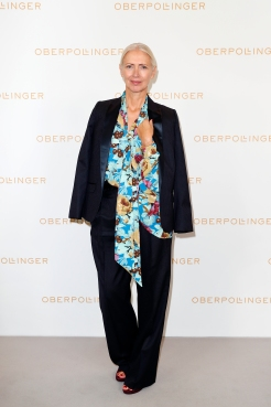 MUNICH, GERMANY - SEPTEMBER 12: Christiane Arp during the grand opening of the new Oberpollinger ground floor 'Muenchens Neue Prachtmeile' at Oberpollinger on September 12, 2018 in Munich, Germany. (Photo by Franziska Krug/Getty Images for Oberpollinger)