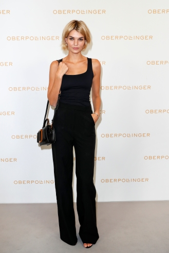 MUNICH, GERMANY - SEPTEMBER 12: Luisa Hartema during the grand opening of the new Oberpollinger ground floor 'Muenchens Neue Prachtmeile' at Oberpollinger on September 12, 2018 in Munich, Germany. (Photo by Franziska Krug/Getty Images for Oberpollinger)