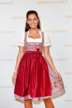 MUNICH, GERMANY - SEPTEMBER 12: Vanessa Fuchs during the grand opening of the new Oberpollinger ground floor 'Muenchens Neue Prachtmeile' at Oberpollinger on September 12, 2018 in Munich, Germany. (Photo by Franziska Krug/Getty Images for Oberpollinger)