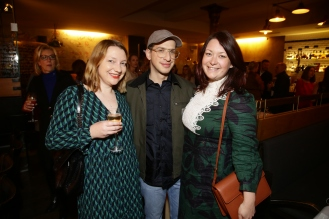 Lisa Tippelt, Konstantin Spachis, Nathalie Schwarz Mode Medien Abend in MŸnchen am 28.03.2019. © Jessica Kassner / jmk-photography +49 170 83 493 47 jessica@jmk-photography.de www.jmk-photography.de