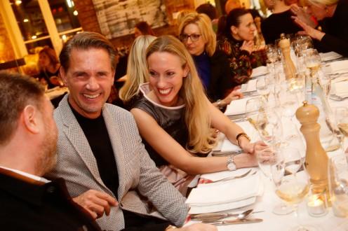 Tobias van Duynen, Johanna Katherina Wedl Mode Medien Abend in München am 28.03.2019. © Jessica Kassner / jmk-photography +49 170 83 493 47 jessica@jmk-photography.de www.jmk-photography.de