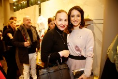 Petra Pfaller, Stephanie Stumph Luisa Cerano Duftpräsentation in München am 14.03.2019. Agency People Image (c) Jessica Kassner