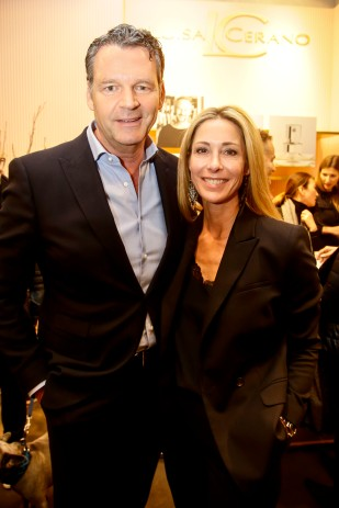 Markus Höhn und Frau Dorothea Luisa Cerano Duftpräsentation in München am 14.03.2019. Agency People Image (c) Jessica Kassner